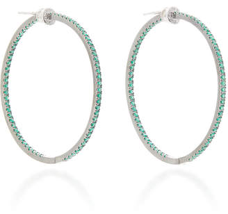 Nam Cho 18K Gold Emerald And Diamond Earrings