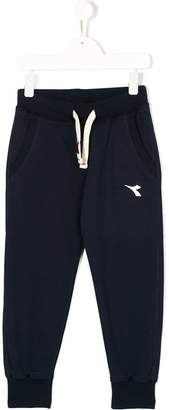 Diadora Junior drawstring tracksuit trousers