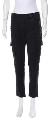 Mason High-Rise Straight-Leg Pants