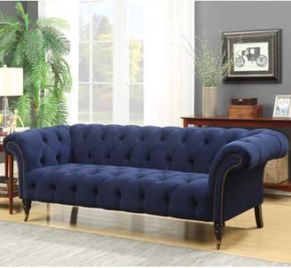 Willa Arlo Interiors Elle Tufted Chesterfield Sofa