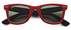 Ray-Ban Women's RB2140 50MM Classic Wayfarer Sunglasses