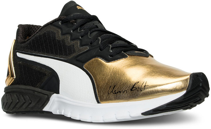 Puma Men's Ignite Dual Bolt Running Sneakers from Finish Line