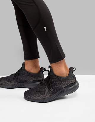 adidas Alphabounce Sneakers In Black DB1090