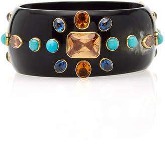 Ashley Pittman Horn Multi-Stone Bangle