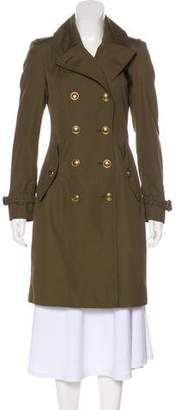 Burberry Beat Check-Lined Trench Coat
