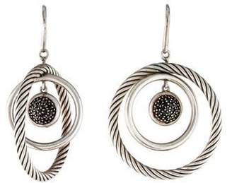 David Yurman Black Diamond Mobile Earrings
