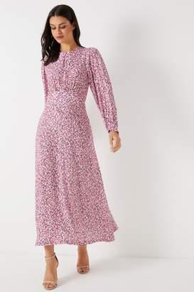 Next Womens Closet Puff Sleeve A line Dress