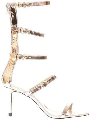 Marc Ellis Copper Calp Sandals In Leather