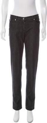 Michael Kors Mid-Rise Straight-Leg Jeans w/ Tags