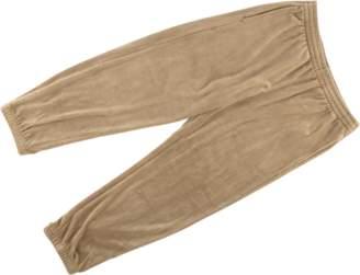 Supreme Velour Warm Up Pant - 'FW 17' - Tan