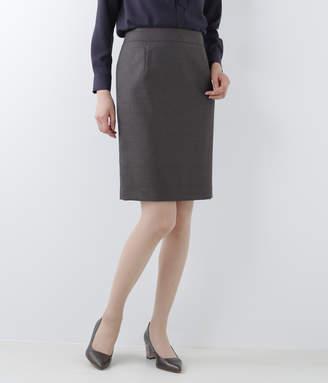 NEWYORKER women's ウールシルクストライプ タイトスカート