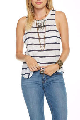 Chaser Striped Linen Tank