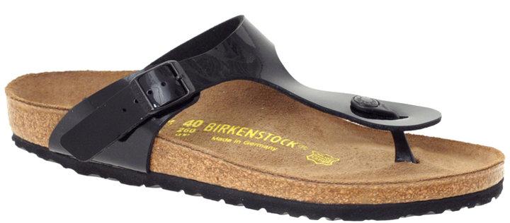 Birkenstock Gizeh Patent Thong Flat Sandal