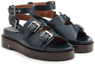 Laurence Dacade Leather Sandals with Buckled Straps