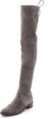 Stuart Weitzman Lowland Over the Knee Boots $798 thestylecure.com