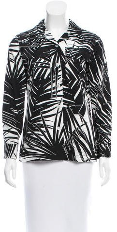 Marc JacobsMarc Jacobs Printed Button-Up Top