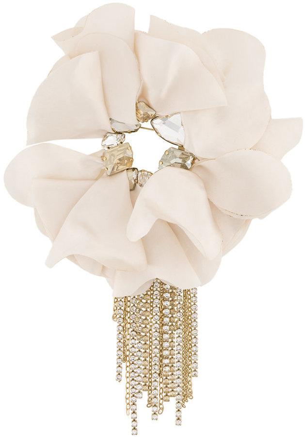 LanvinLanvin floral brooch