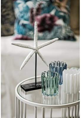 Highland Dunes Glass Tealight Holder
