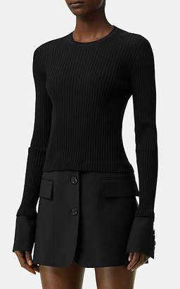 Burberry Women's Wool-Mohair Sportcoat-Style Dress - Black