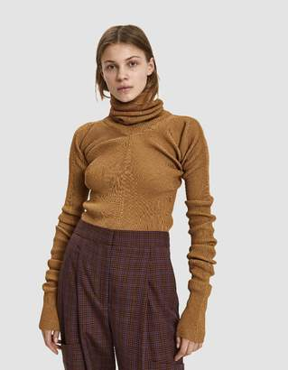 Marni Ribbed Turtleneck Sweater