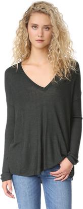 LINE Heather Sweater $275 thestylecure.com