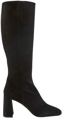 Prada Square toe boots