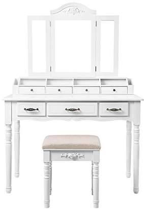 SONGMICS Vanity Table Set