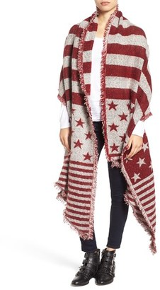 Collection XIIX 'American Flag' Scarf $48 thestylecure.com