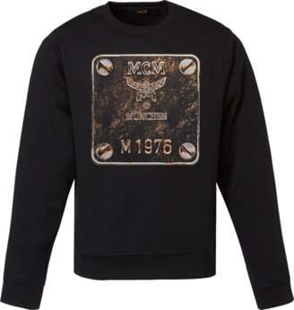 MCM Men's Brass Plate Sweatshirt
