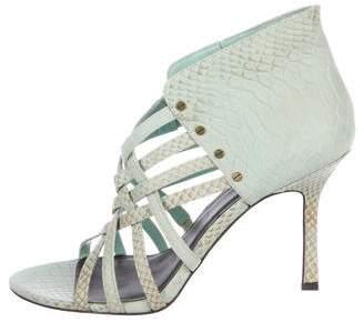 Elizabeth and James Kori Embossed Sandals