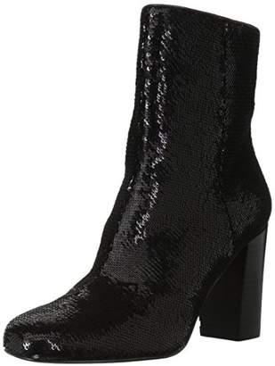 Amazon Brand - The Fix Women's Sutton Round-Toe Sequin Ankle Boot