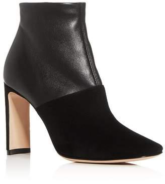 Giorgio Armani Women's Square-Toe Block-Heel Booties - 100% Exclusive