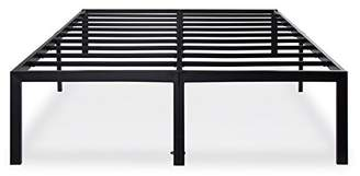 Olee Sleep 18 Inch Tall T-3000 Heavy Duty Steel Slat/Non-slip Support Bed Frame