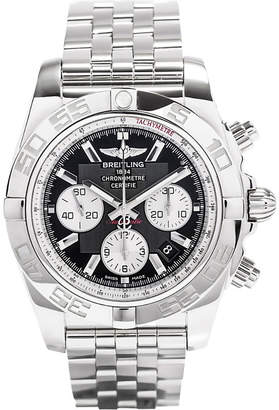 Breitling AB011012B967375A 44 automatic stainless steel watch