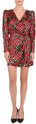 The Kooples Poppy Print Wrap Dress