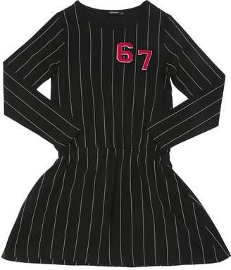 Long Sleeve Cotton Jersey Dress