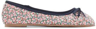 La Redoute COLLECTIONS Printed Canvas Ballet Pumps