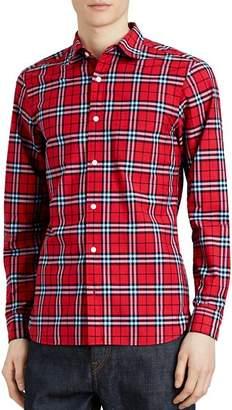 Burberry Alexander Plaid Regular Fit Shirt