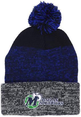 '47 Dallas Mavericks Black Static Pom Knit Hat