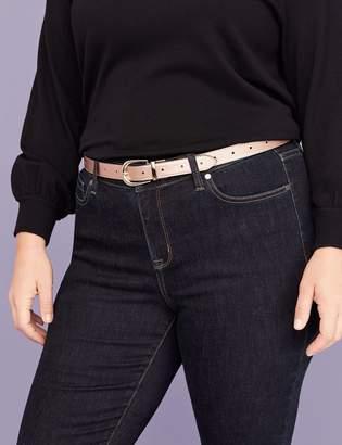 Lane Bryant Skinny Reversible Belt