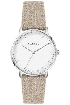 Ladies Kartel Scotland Lewis 34mm Cashmere Watch KT-LEW34-SWCM
