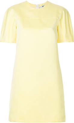 MSGM short sleeve shift dress
