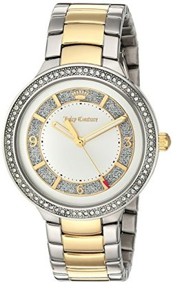 Juicy Couture Women's 1901402 Catalina Analog Display Japanese Quartz Two Tone Watch $250 thestylecure.com