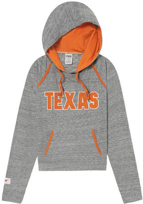 PINK University Of Texas Bling Crossover Perfect Pullover