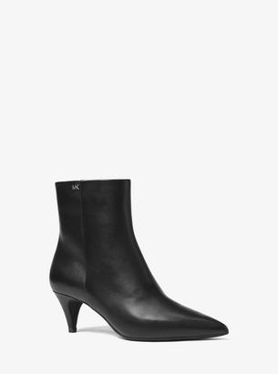 MICHAEL Michael Kors Blaine Flex Leather Ankle Boot