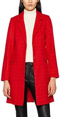 Warehouse Women's Studded Crombie Coat,8 (Manufacturer Size: 08)