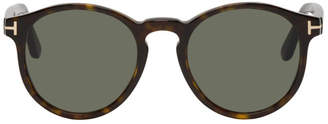 Tom Ford Tortoiseshell Ian Sunglasses