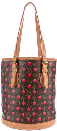 Louis VuittonLouis Vuitton Monogram Cerises Bucket Bag