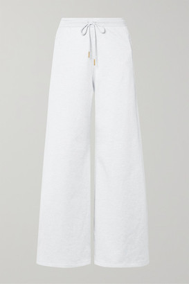 Opening Ceremony Cotton-terry Track Pants - Light gray