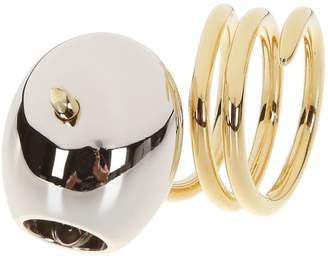 Schield Olive Ring